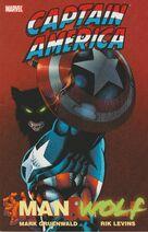 Captain America - Man & Wolf