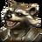 Rocket Raccoon portrait