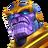 Thanos (Infinity Gauntlet) portrait