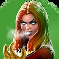 Ice Phoenix portrait
