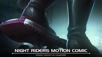 Night Riders Motion Comic Marvel Contest of Champions