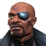 Nick Fury portrait