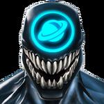 Symbioid (Cosmic) portrait