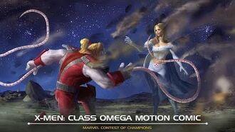 X-MEN CLASS OMEGA MOTION COMIC Marvel Contest of Champions