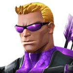 Hawkeye portrait