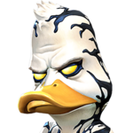 Venom the Duck portrait