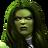She-Hulk portrait