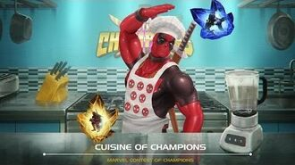 Cuisine of Champions Marvel Contest of Champions