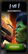 Quickmatch Hulkbuster vs Hulk tile