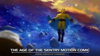 The Age of the Sentry Motion Comic Marvel Contest of Champions