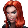 Black Widow portrait