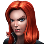 Black Widow portrait