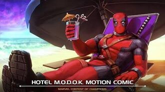 Hotel M.O.D.O.K. Motion Comic Marvel Contest of Champions
