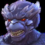 Dragon Man portrait