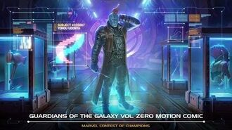 GUARDIANS OF THE GALAXY VOL. ZERO MOTION COMIC