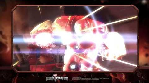 Hulkbuster Special Moves Marvel Contest of Champions