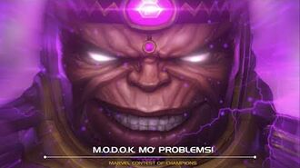 M.O.D.O.K. Mo' Problems! Marvel Contest of Champions