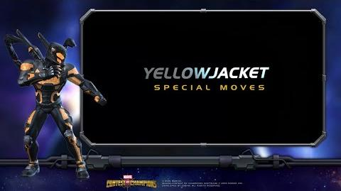 Yellowjacket Special Moves Marvel Contest of Champions-0