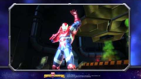 Iron Patriot Special Moves Marvel Contest of Champions