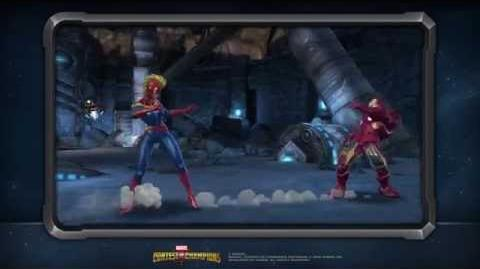Captain Marvel's Special Moves Marvel Contest of Champions