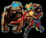 Ms Marvel (Kamala Khan) Lockjaw Avengers Alliance