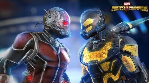 Marvel Contest of Champions Ant-Man & Yellowjacket Enter Battlerealm