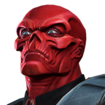 Red Skull portrait