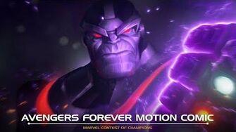 AVENGERS FOREVER MOTION COMIC Marvel Contest of Champions