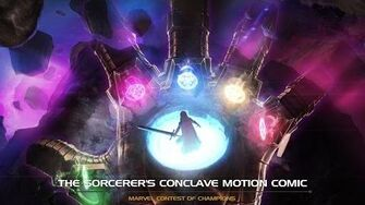 The Sorcerer's Conclave Motion Comic Marvel Contest of Champions