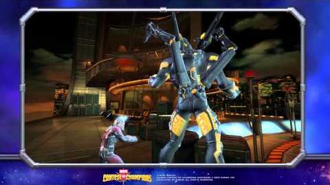 Yellowjacket Special Moves Marvel Contest of Champions