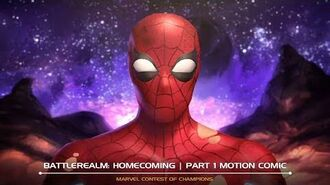 Battlerealm Homecoming Motion Comic Marvel Contest of Champions