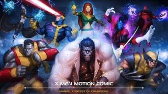 X-Men Motion Comic Marvel Contest of Champions