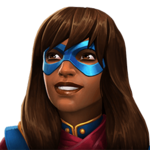 Ms. Marvel (Kamala Khan) portrait