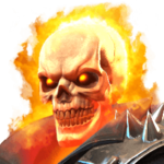Ghost Rider portrait