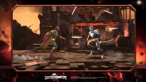 Vision Special Moves Marvel Contest of Champions