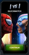 Quickmatch Spider-Man (Classic) vs Electro tile