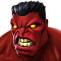 Red Hulk portrait