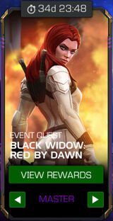 Black Widow: Red by Dawn