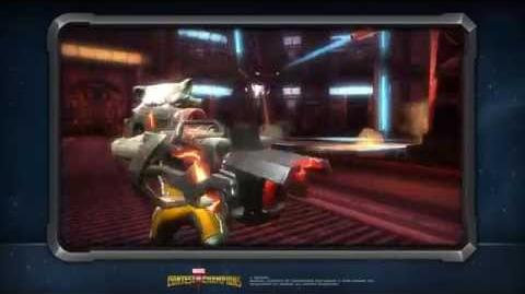 Rocket Raccoon's Special Moves Marvel Contest of Champions