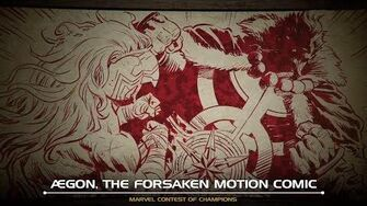 ÆGON, THE FORSAKEN MOTION COMIC Marvel Contest of Champions