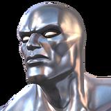 Silver Surfer portrait