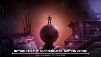 Return to the Micro-Realm Motion Comic Marvel Contest of Champions