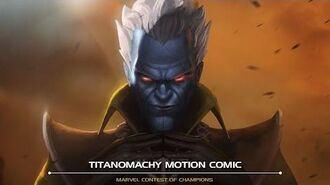 Titanomachy Motion Comic Marvel Contest of Champions
