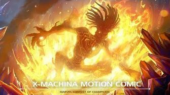 X-MACHINA Motion Comic Marvel Contest of Champions