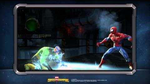 Electro's Special Moves Marvel Contest of Champions