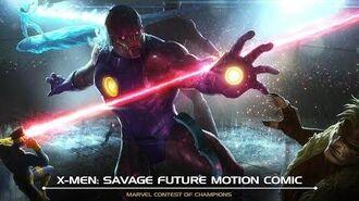 X-Men Savage Future Motion Comic Marvel Contest of Champions