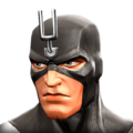 Black Bolt portrait