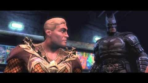 Injustice Gods Among Us Aquaman Trailer