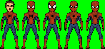 ABEL PeterParker Spiderman Adult1101