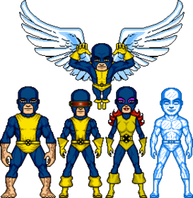 Team-Original Self XMen 001